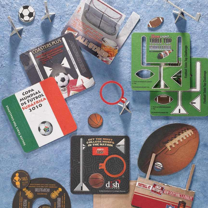 Sports Coasters